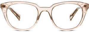 Eugene Narrow Eyeglasses in Rose Crystal for Women