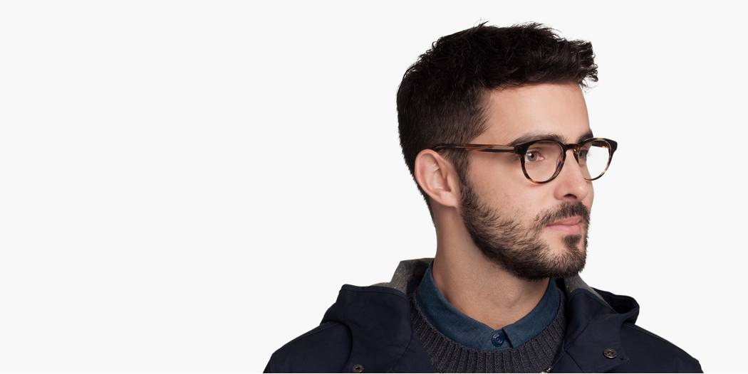 Percey Eyeglasses In Mission Clay Fade For Men Warby Parker