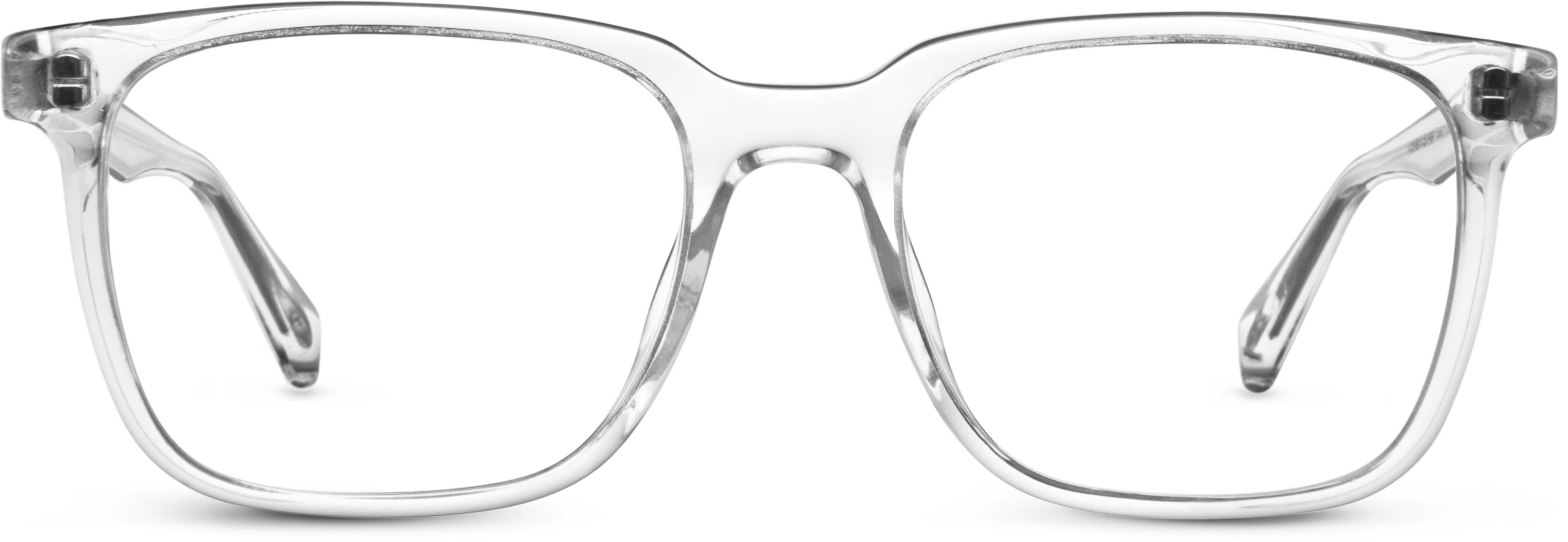 Chamberlain Eyeglasses in Crystal for Men | Warby Parker