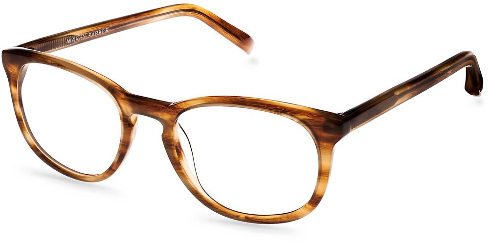 Warby Parker Eyeglasses - Lyle in English Oak
