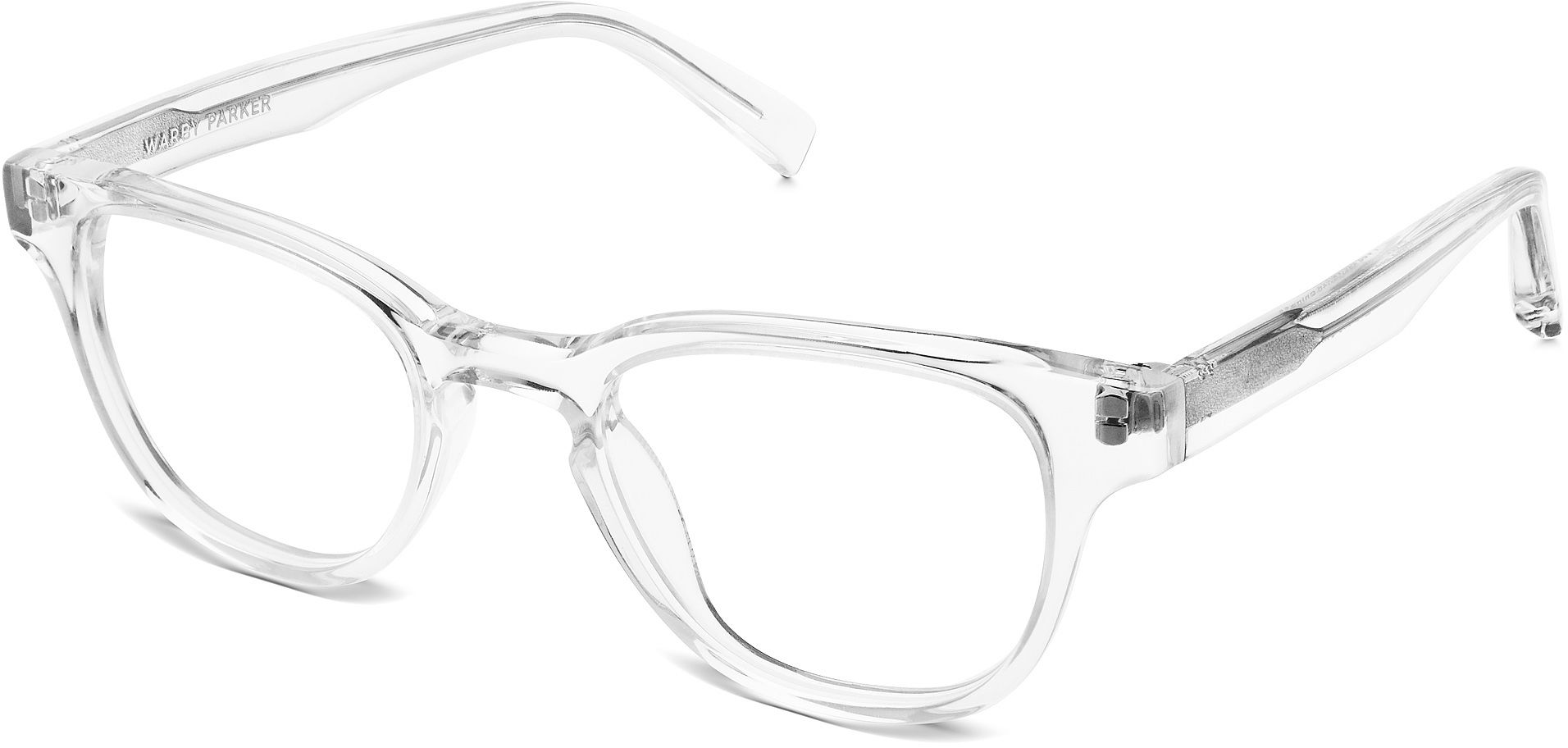 Coley Eyeglasses in Crystal for Men | Warby Parker