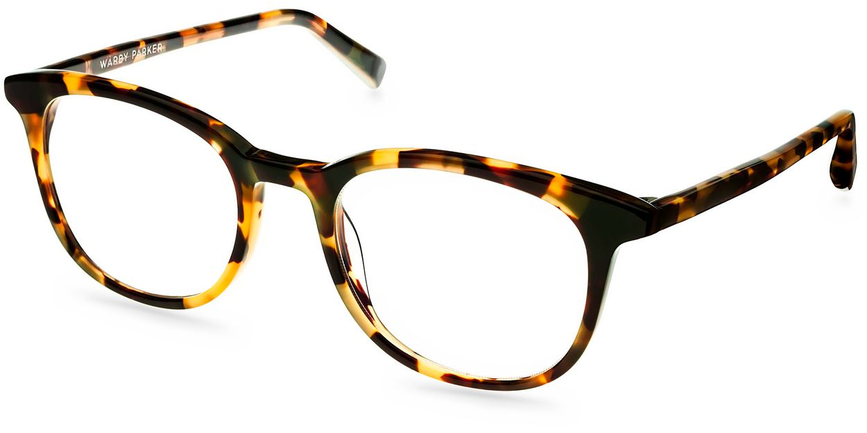durand eyeglasses in woodland tortoise for warby