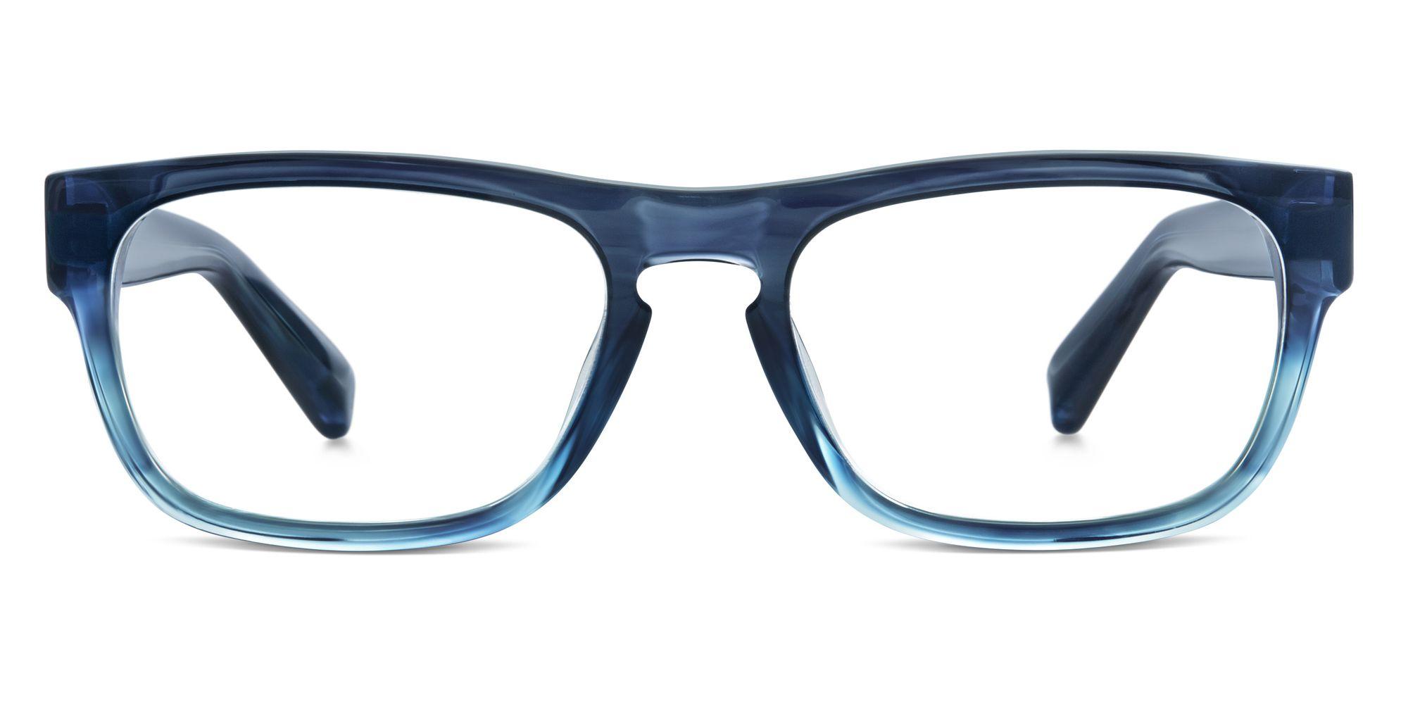 Warby Parker Roosevelt Eyeglasses in Blue Slate Fade for Men