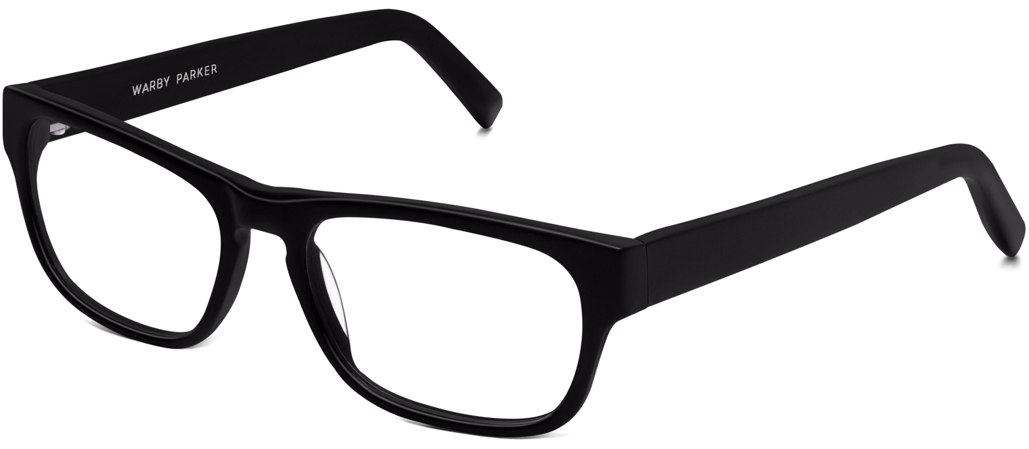 Roosevelt Eyeglasses In Jet Black Matte For Men Warby Parker