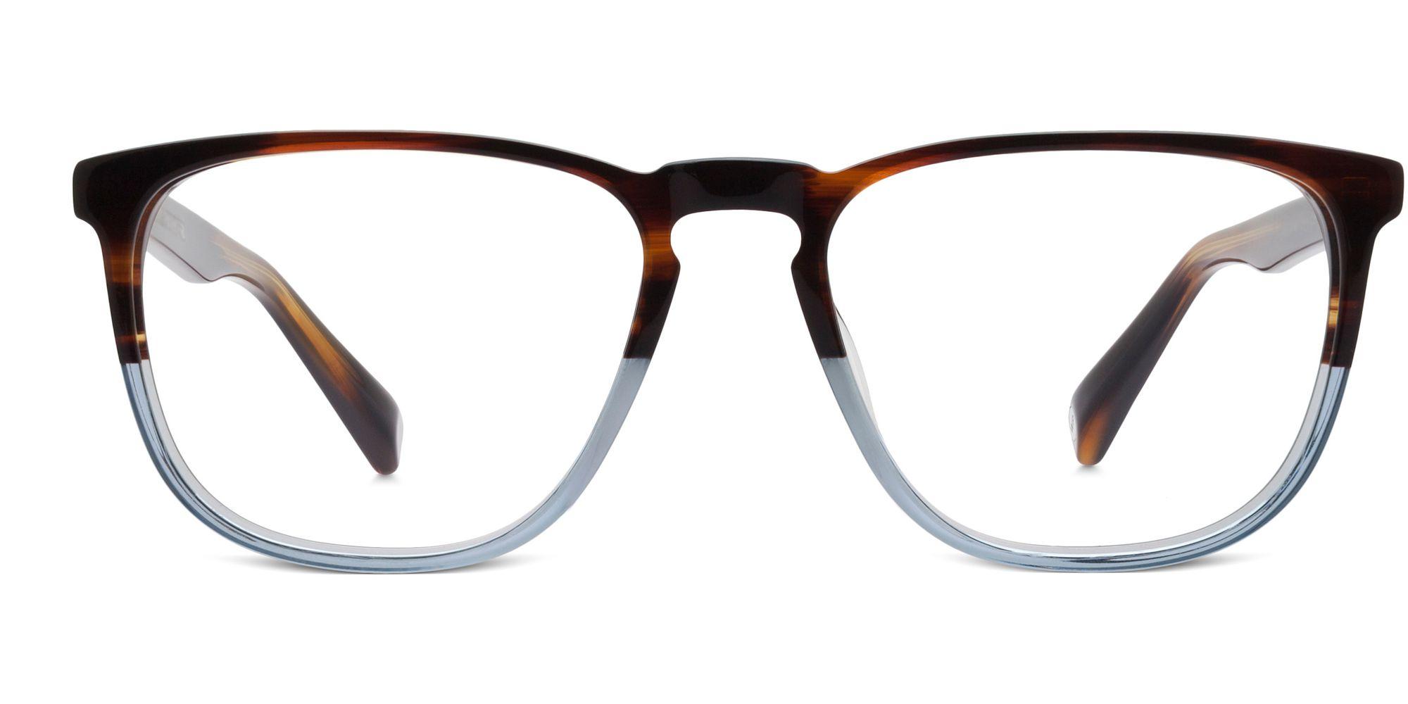 Warby Parker Vaughan Eyeglasses in Eastern Bluebird Fade for Men