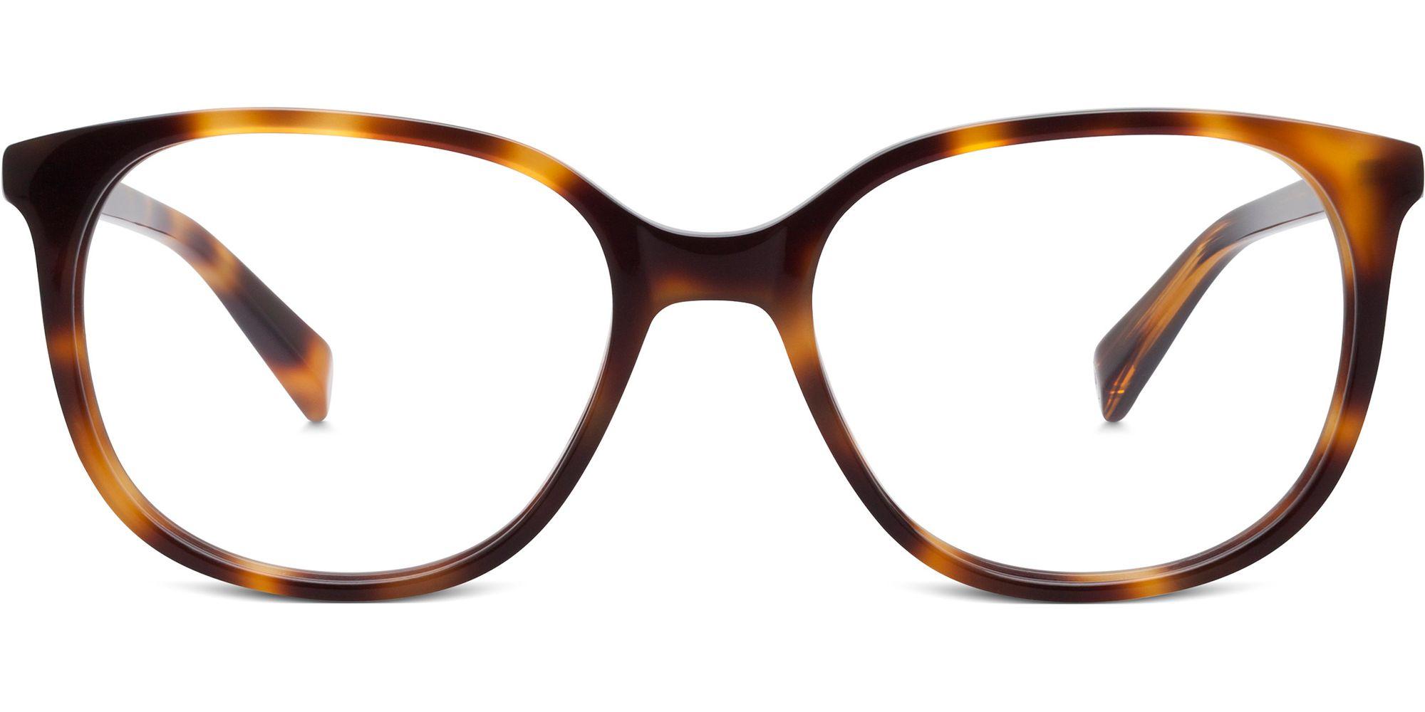 Warby Parker Laurel Eyeglasses in Oak Barrel for Women