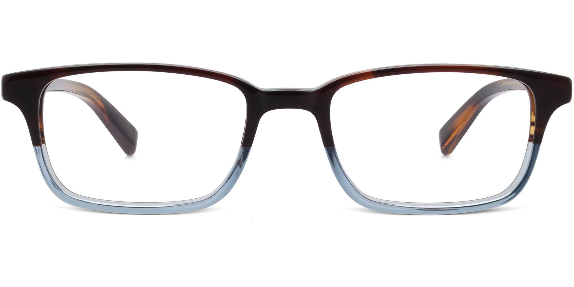 Warby Parker Wilkie Eyeglasses in Eastern Bluebird Fade for Women