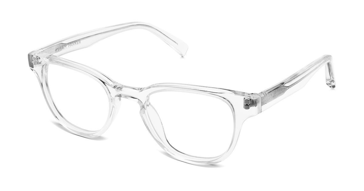 Eyeglass Frames Crystal Clear : Coley Eyeglasses in Crystal for Men Warby Parker