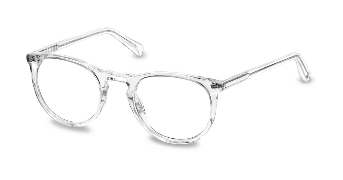 f1307969ab Haskell Eyeglasses in Crystal for Men