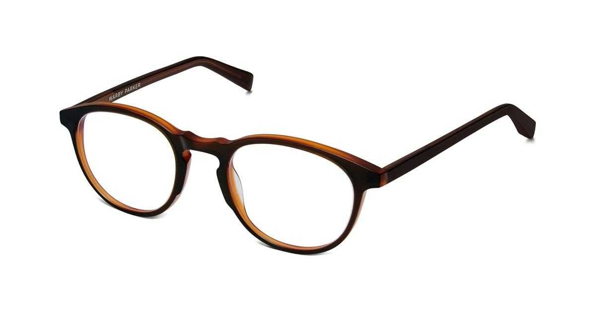 otis eyeglasses in mulled cider for warby