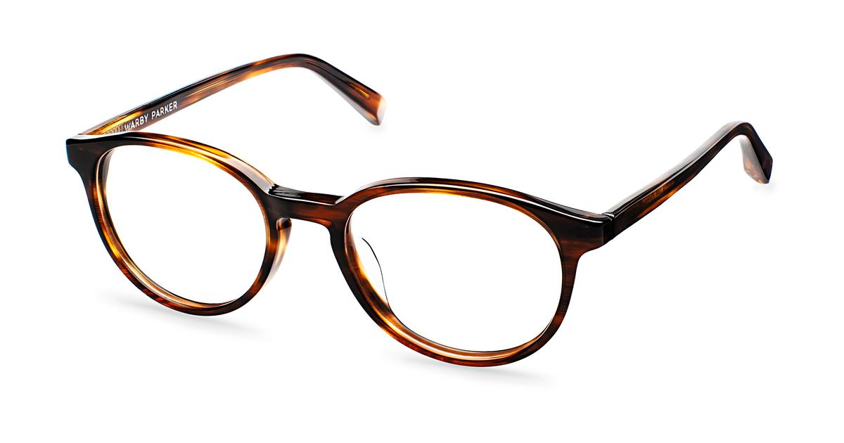 Watts Eyeglasses in Sugar Maple for Men | Warby Parker