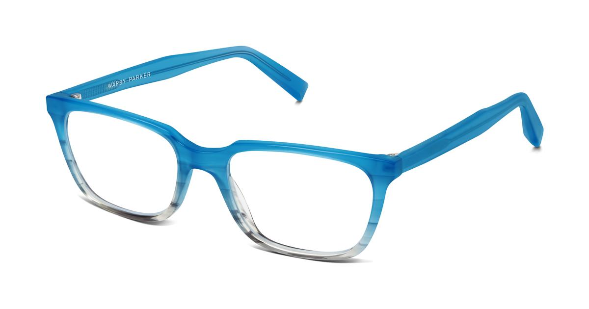Eyeglass Frames Blue Moon : Wilder Eyeglasses in Squall Blue Fade for Men Warby Parker