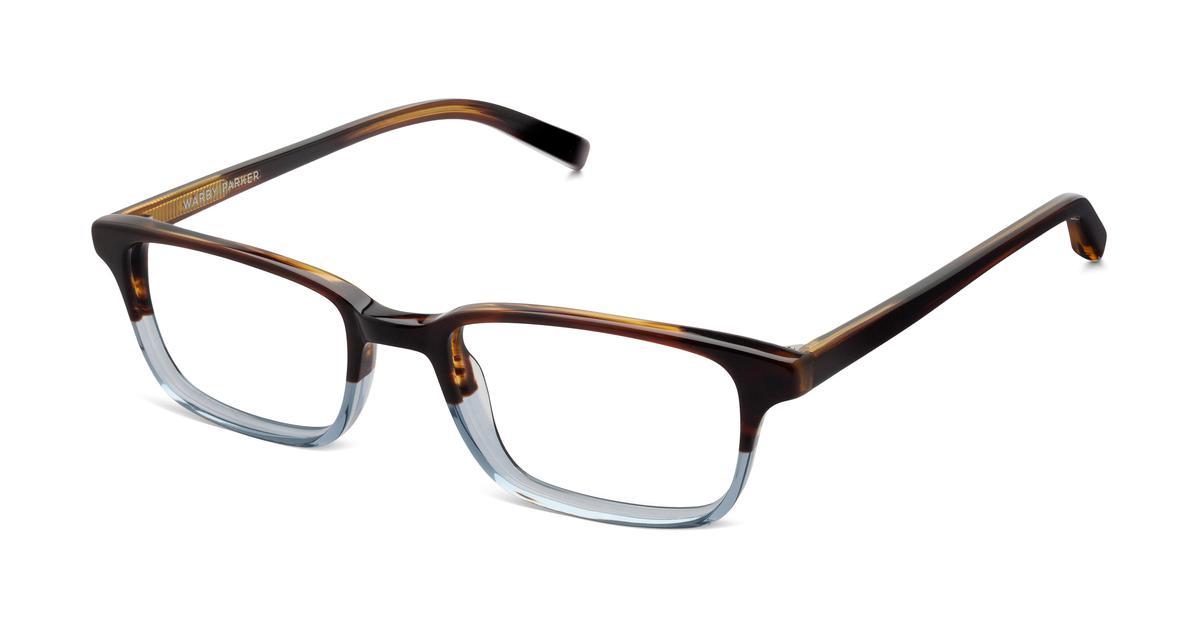 Warby Parker Wilkie Eyeglasses in Eastern Bluebird Fade for Men