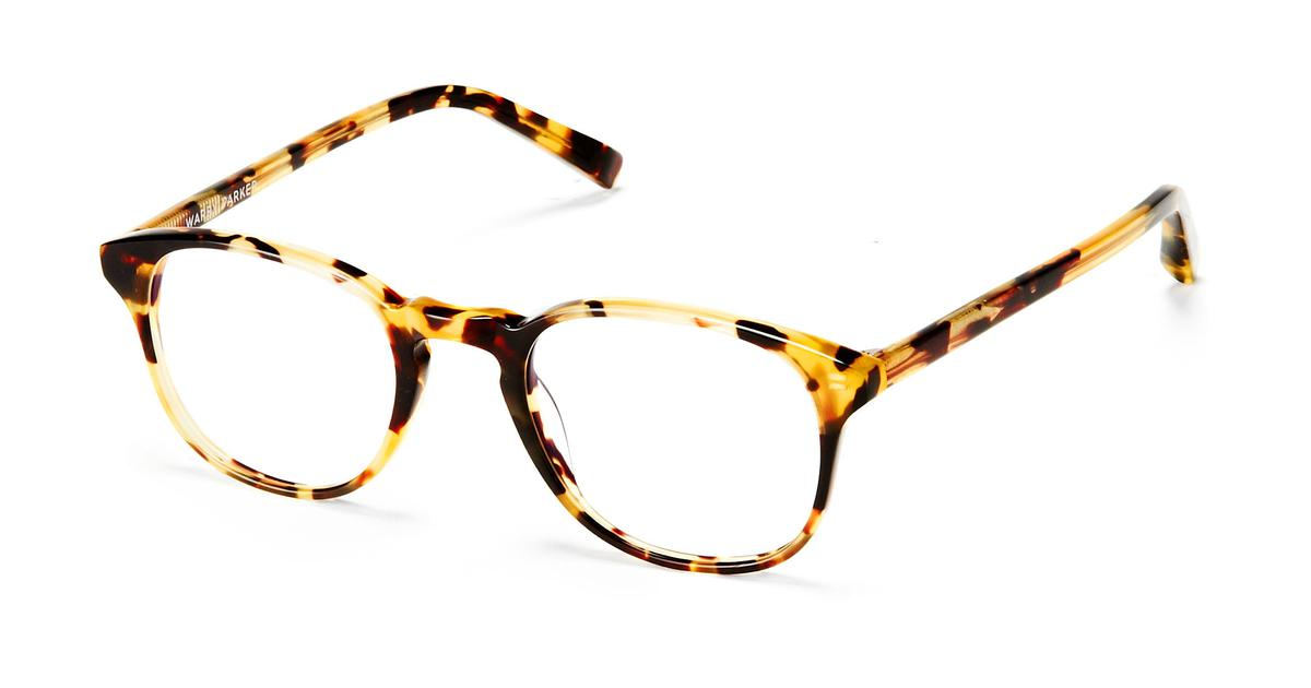 Eyeglass Frames To Try On At Home : Downing Eyeglasses in Walnut Tortoise for Women Warby Parker