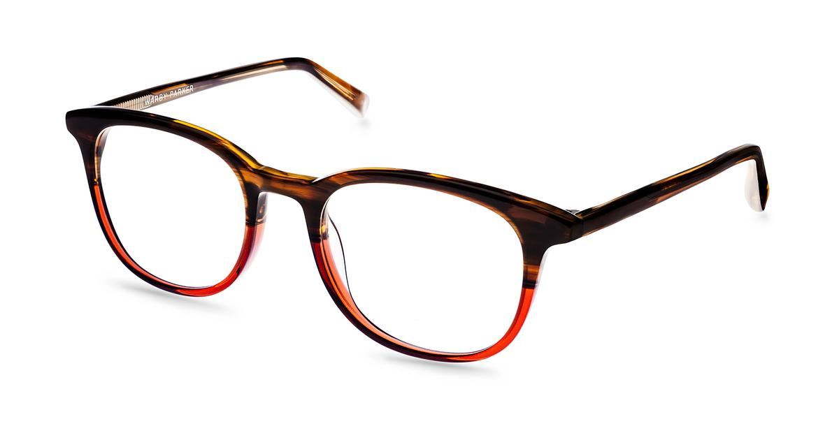 Durand Eyeglasses in Saddle Russet for Women Warby Parker