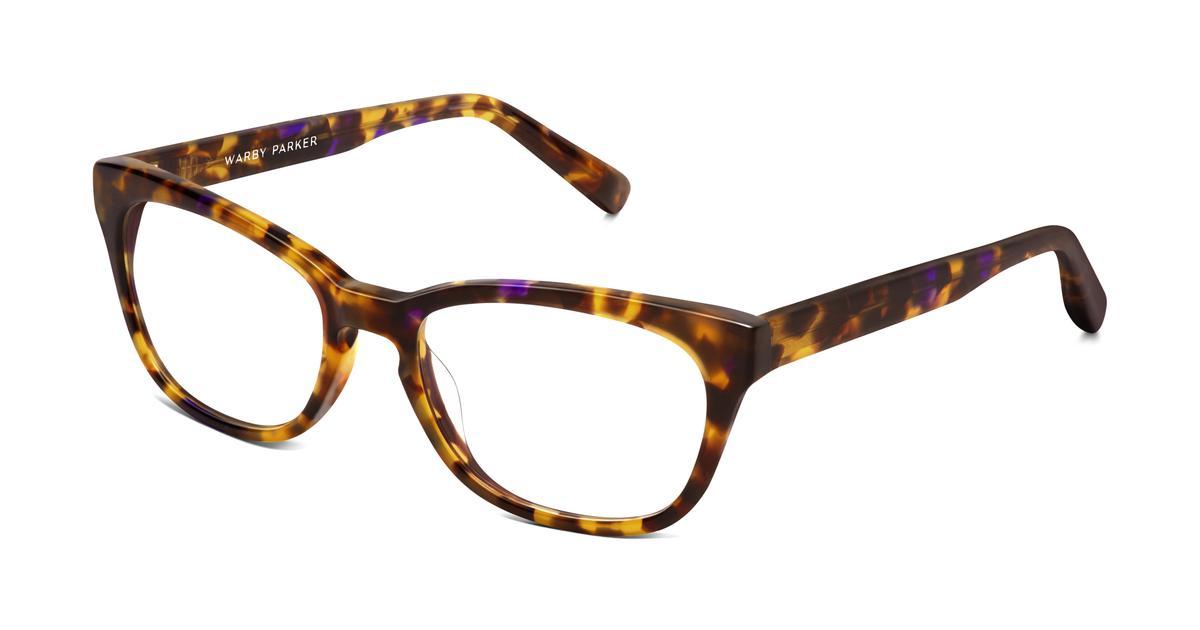 Finch Eyeglasses in Violet Magnolia for Women | Warby Parker