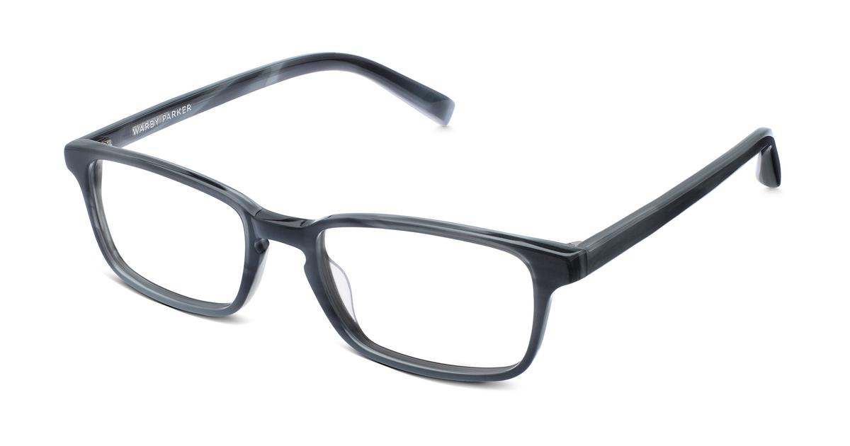 Hardy Eyeglasses in Striped Pacific for Women | Warby Parker