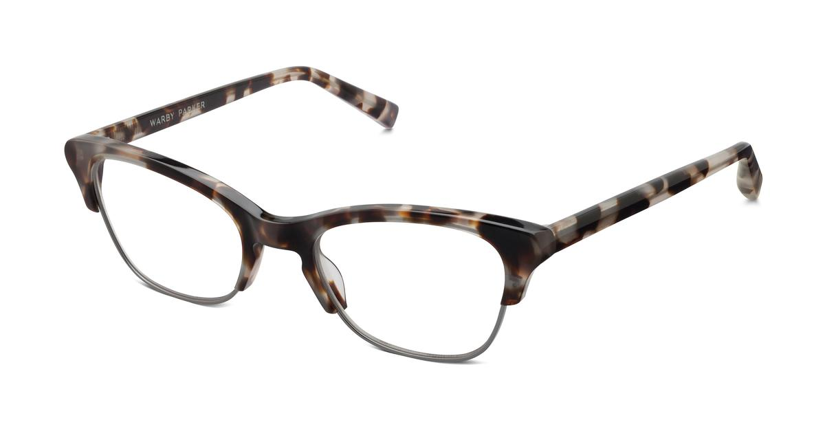 Warby Parker Holcomb Eyeglasses in Pearled Tortoise for Women
