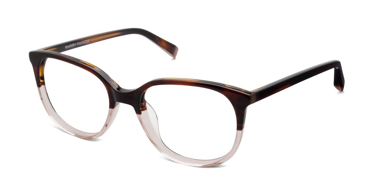 laurel eyeglasses in tea fade for warby