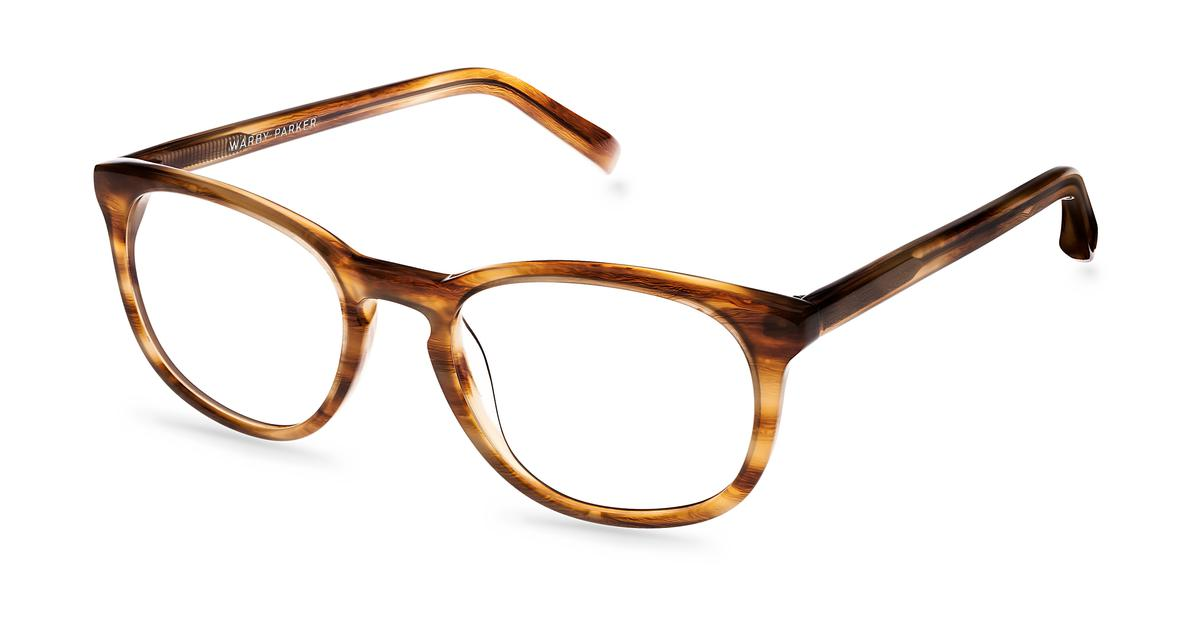 lyle eyeglasses in oak for warby