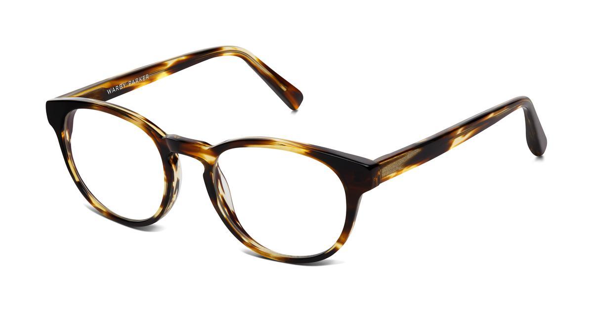 Percey Eyeglasses in Striped Sassafras for Women | Warby Parker