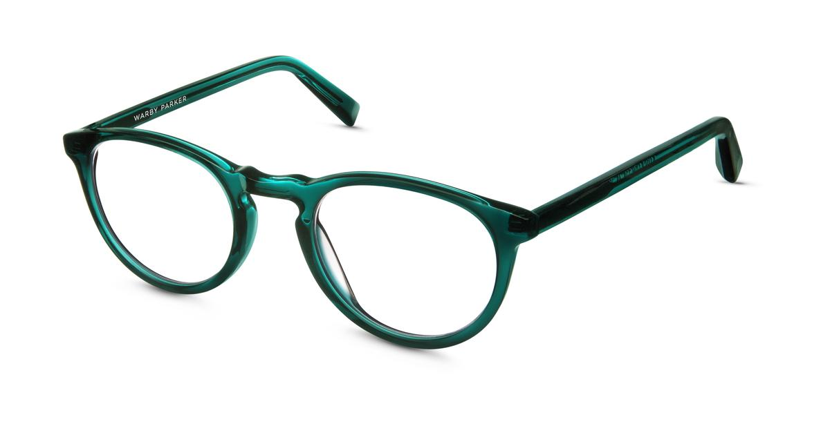 Eyeglasses Frames Green : Stockton Eyeglasses in Sea Green Crystal for Women Warby ...