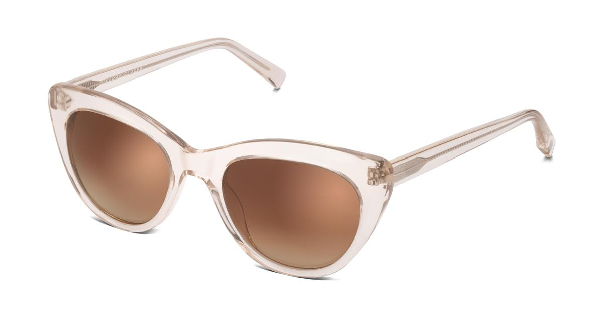 Tilley Sunglasses In Grapefruit Soda With Amber Gradient
