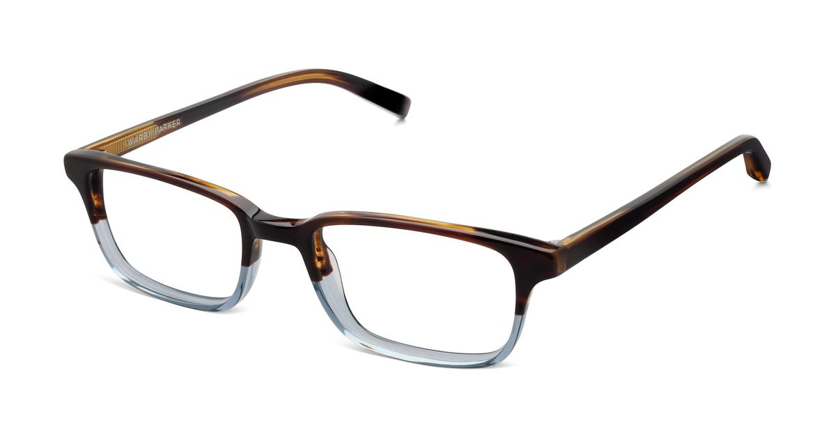 Warby Parker Wilkie Eyeglasses in Eastern Bluebird Fade for Women