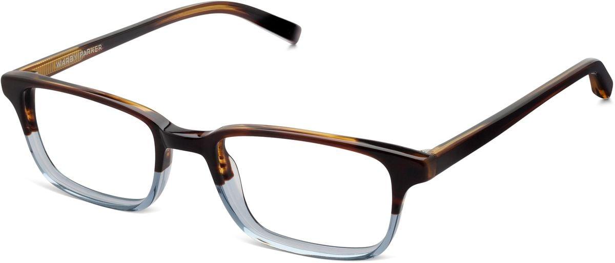 Wilkie frames from Warby Parker in Bluebird Fade. #eyeglasses #bluegrey #frames #warbyparker