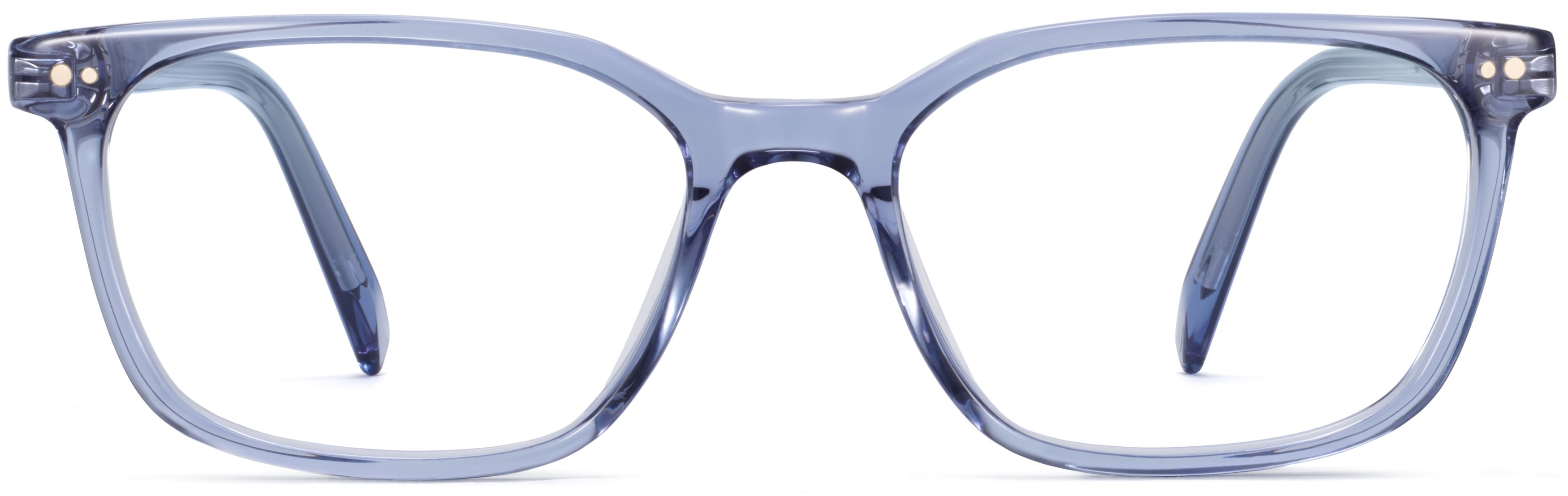 warby parker weathers periwinkle crystal