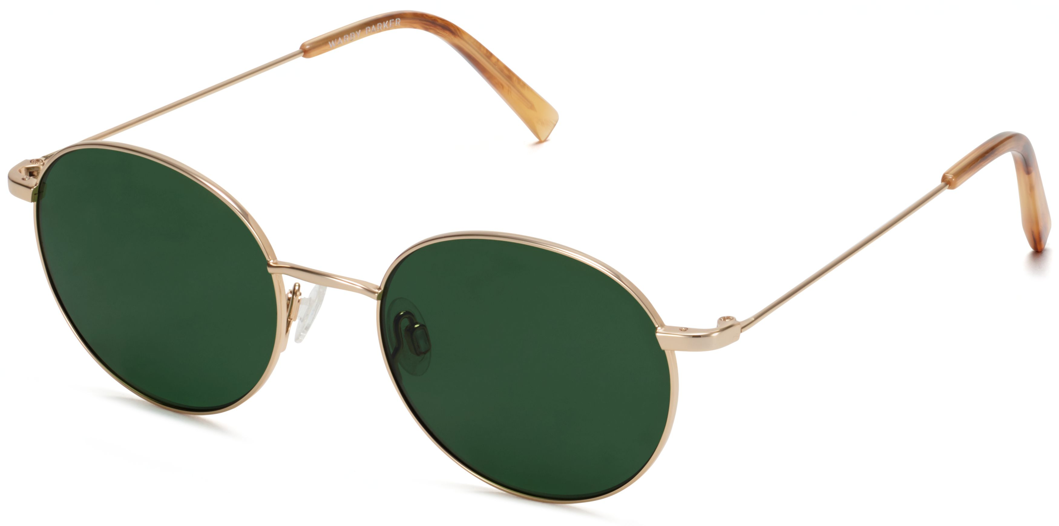 warby parker merrick polished gold