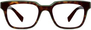 Winston in cognac tortoise and lagoon