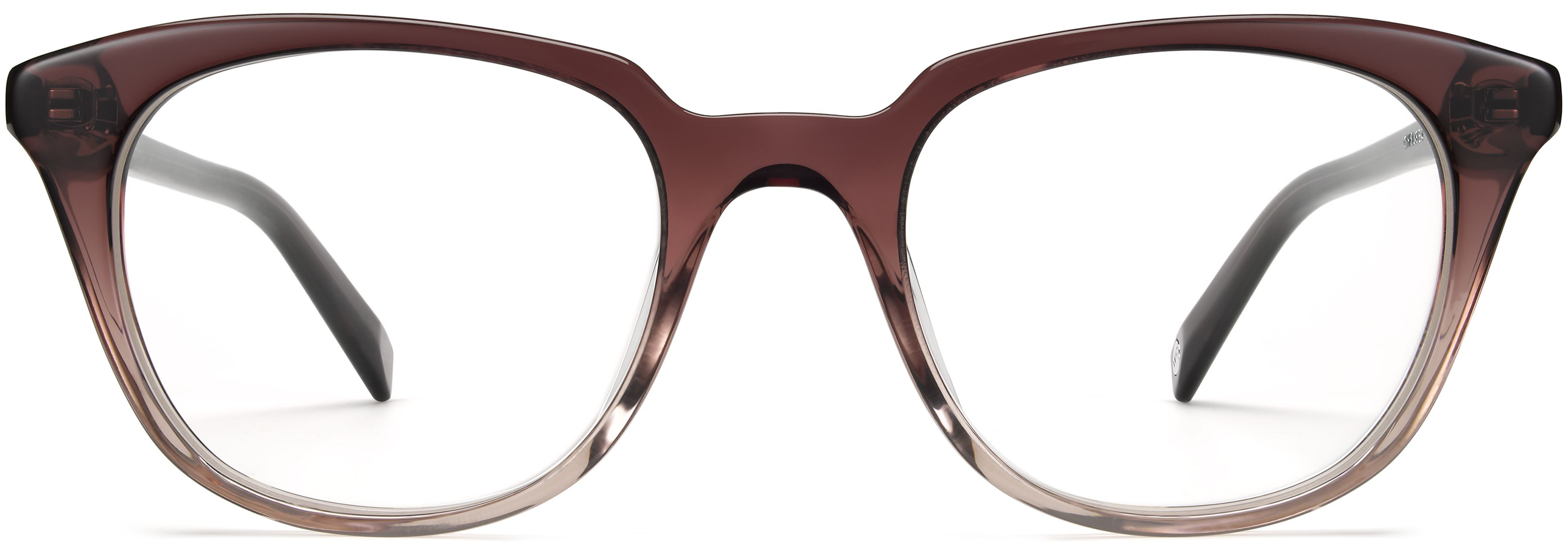 warby parker chelsea mauve crystal fade
