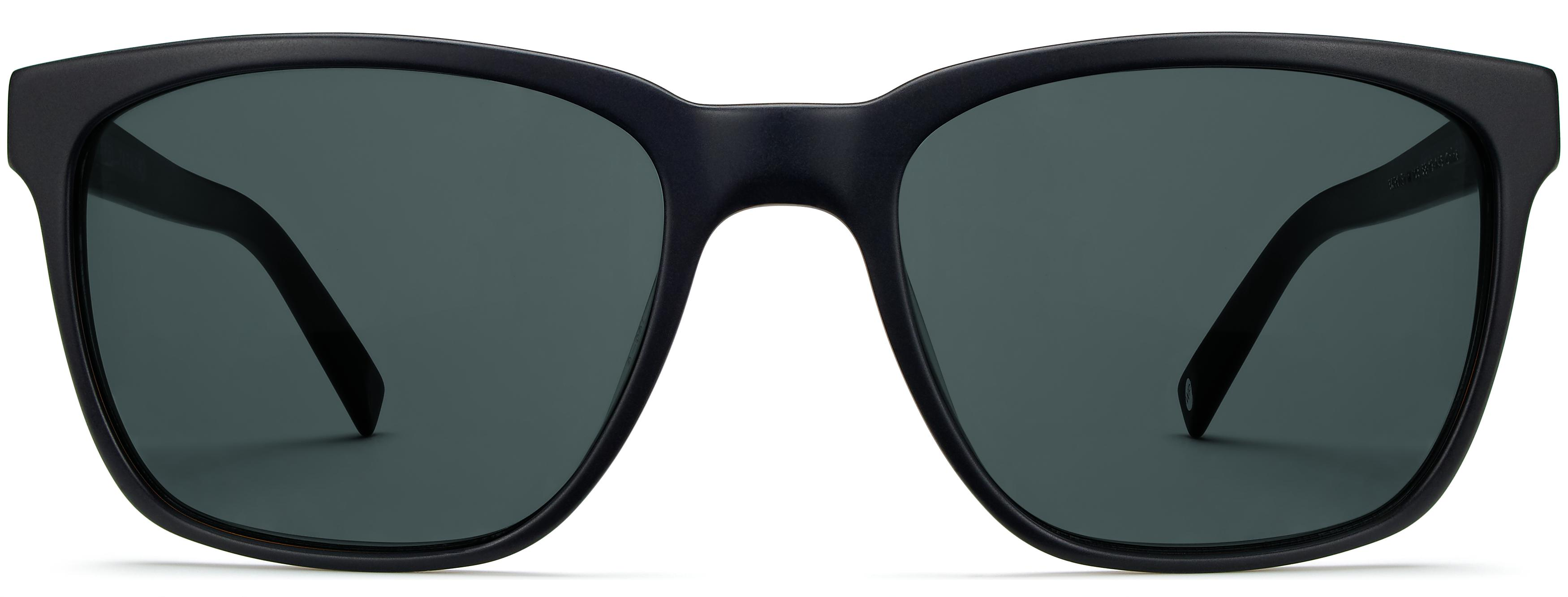 Barkley Wide frames in Black Matte Eclipse