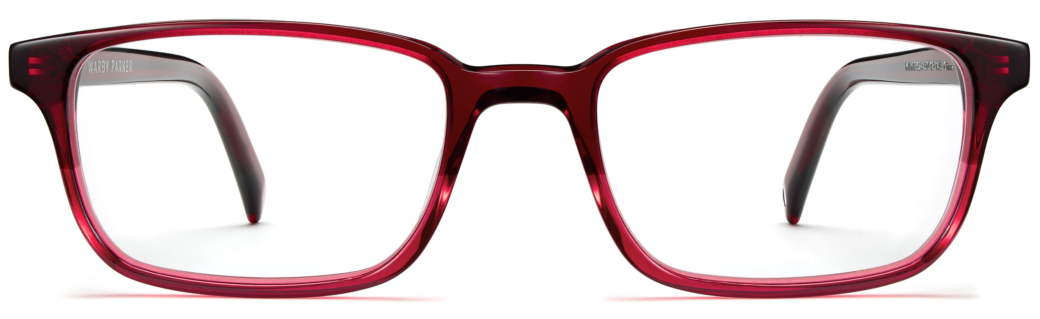 c6ef979639a Wilkie Eyeglasses in Berry Crystal Fade for Women