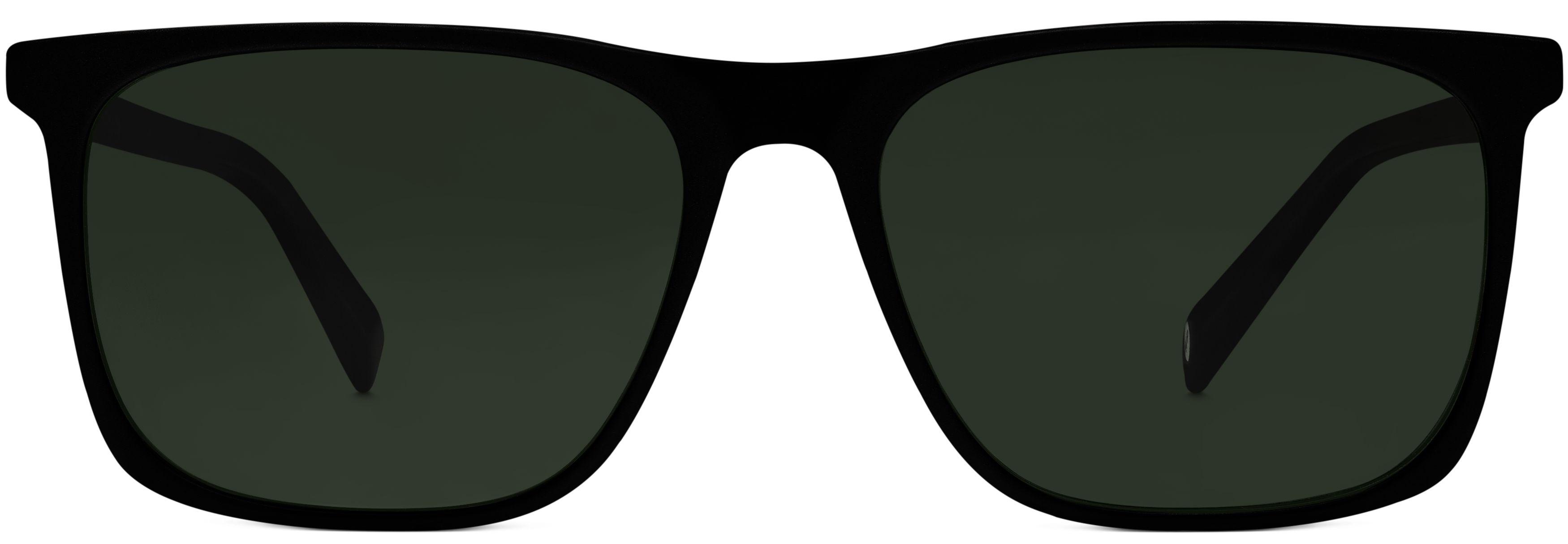 c9aedabea8 Fletcher Sunglasses in Black Matte Eclipse with Olive Green lenses for Men