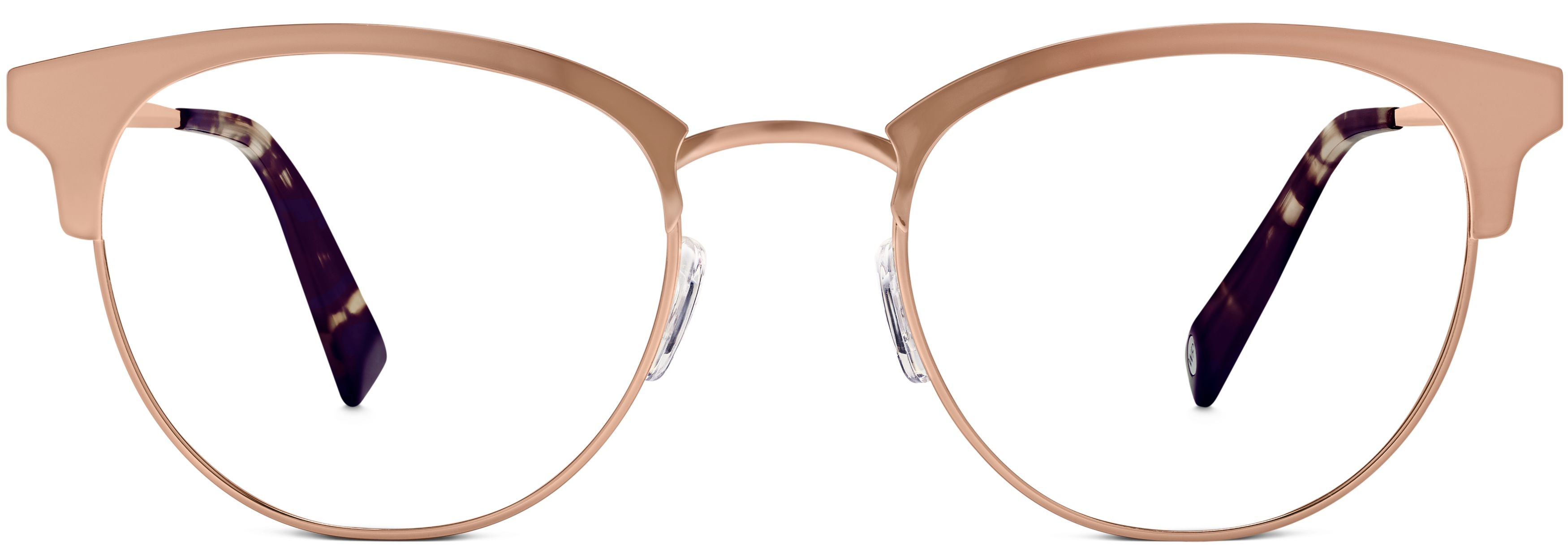 cde7957624 Blair Eyeglasses in Rose Gold for Women