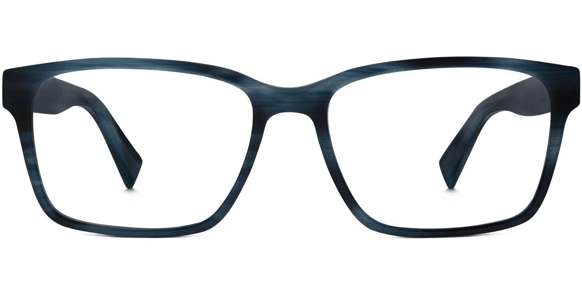 Warby Parker Nash Eyeglasses in Deep Sea Blue for Men
