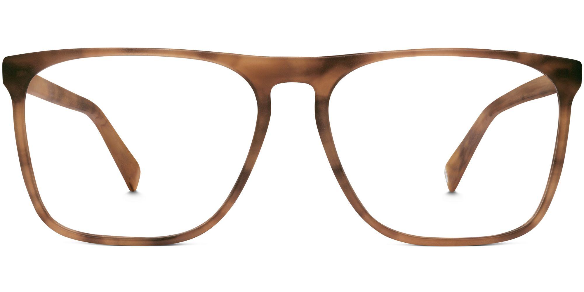 Warby Parker Moore Eyeglasses in Sandalwood Matte for Men