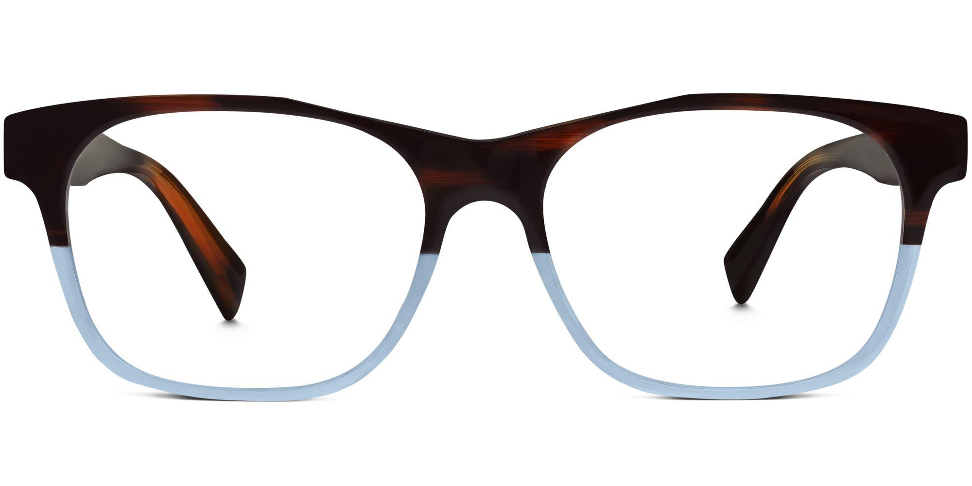 Warby Parker Everson Eyeglasses in Eastern Bluebird Fade for Men