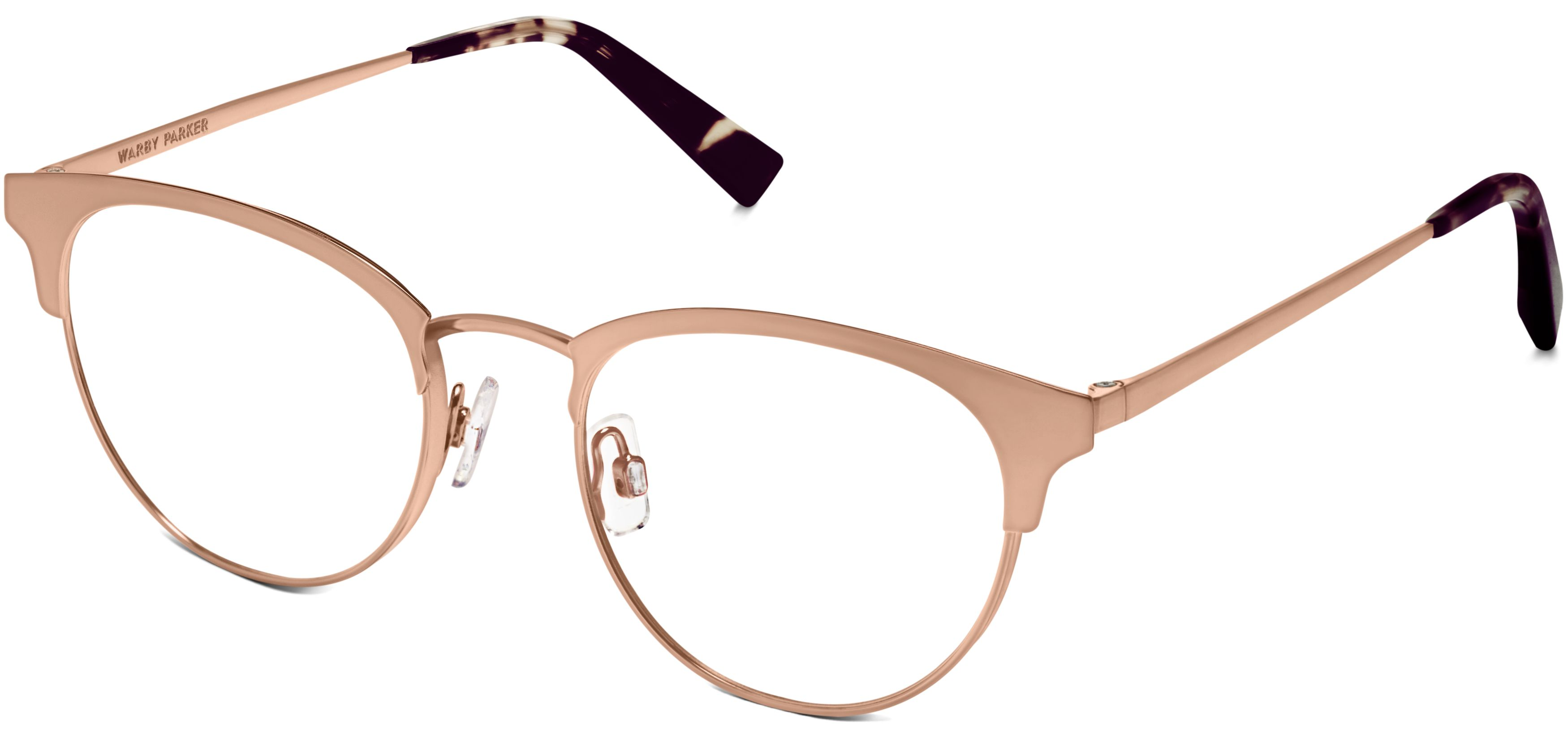 Blair Eyeglasses in Rose Gold for Women | Warby Parker