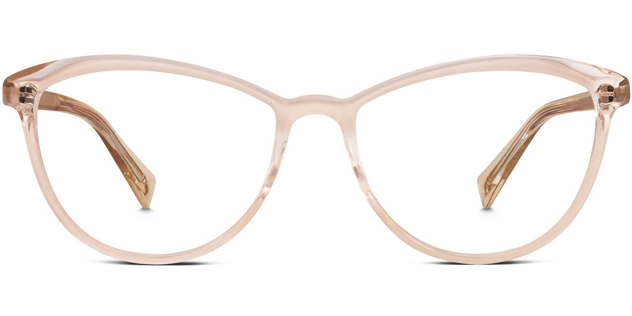 Glasses Frames Locations : Louise Eyeglasses in Elderflower Crystal for Women Warby ...