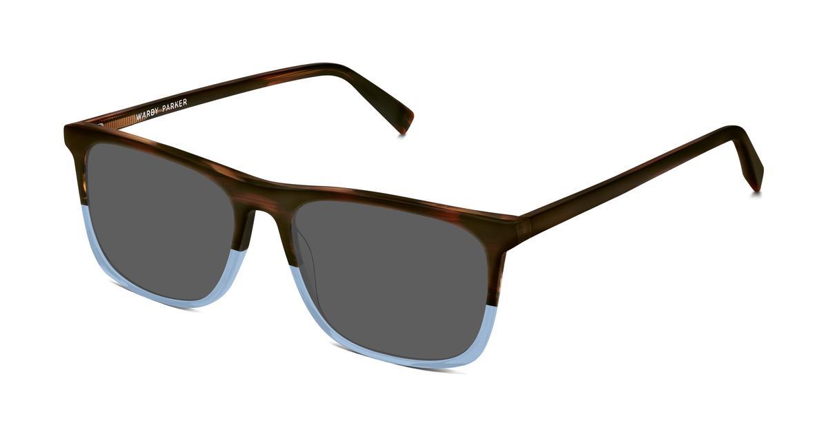 Fletcher Sunglasses in Eastern Bluebird Fade for Men