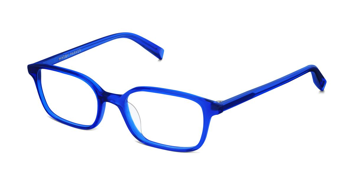 Eyeglass Frames Blue Moon : Colin Eyeglasses in Marina Blue for Women Warby Parker