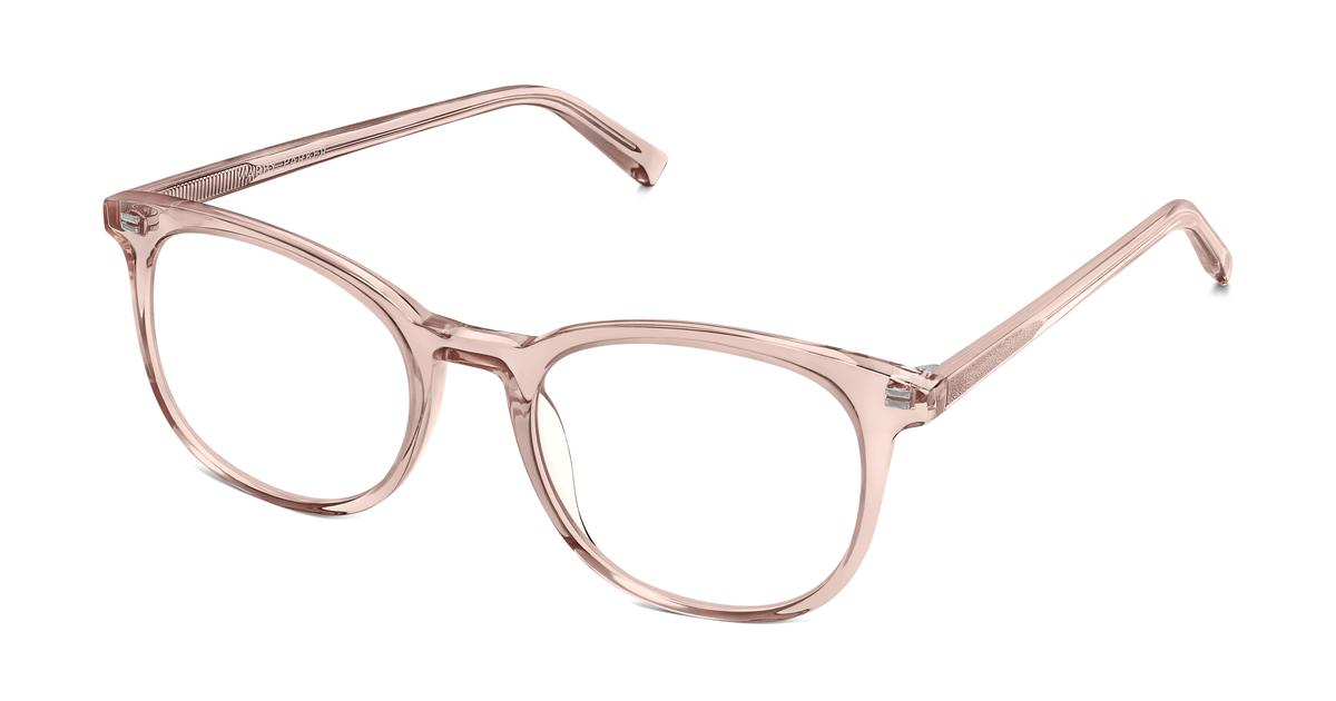 Durand Eyeglasses In Rose Water For Women Warby Parker