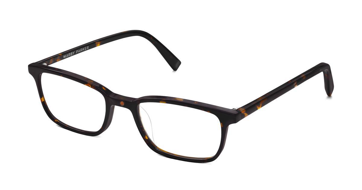 Oliver Eyeglasses in Whiskey Tortoise for Men   Warby Parker