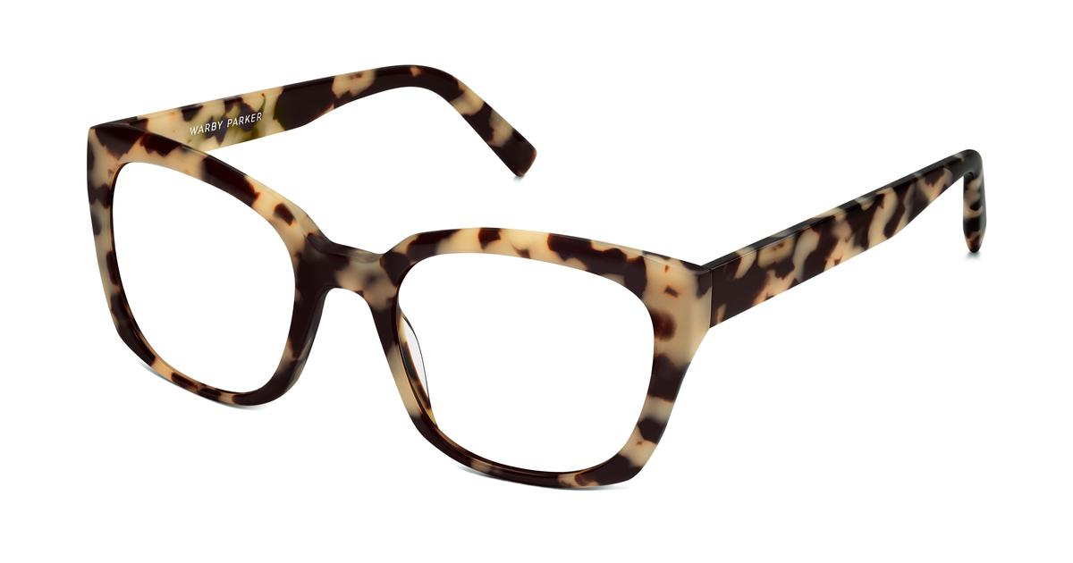 Aubrey Eyeglasses in Marzipan Tortoise for Women | Warby Parker