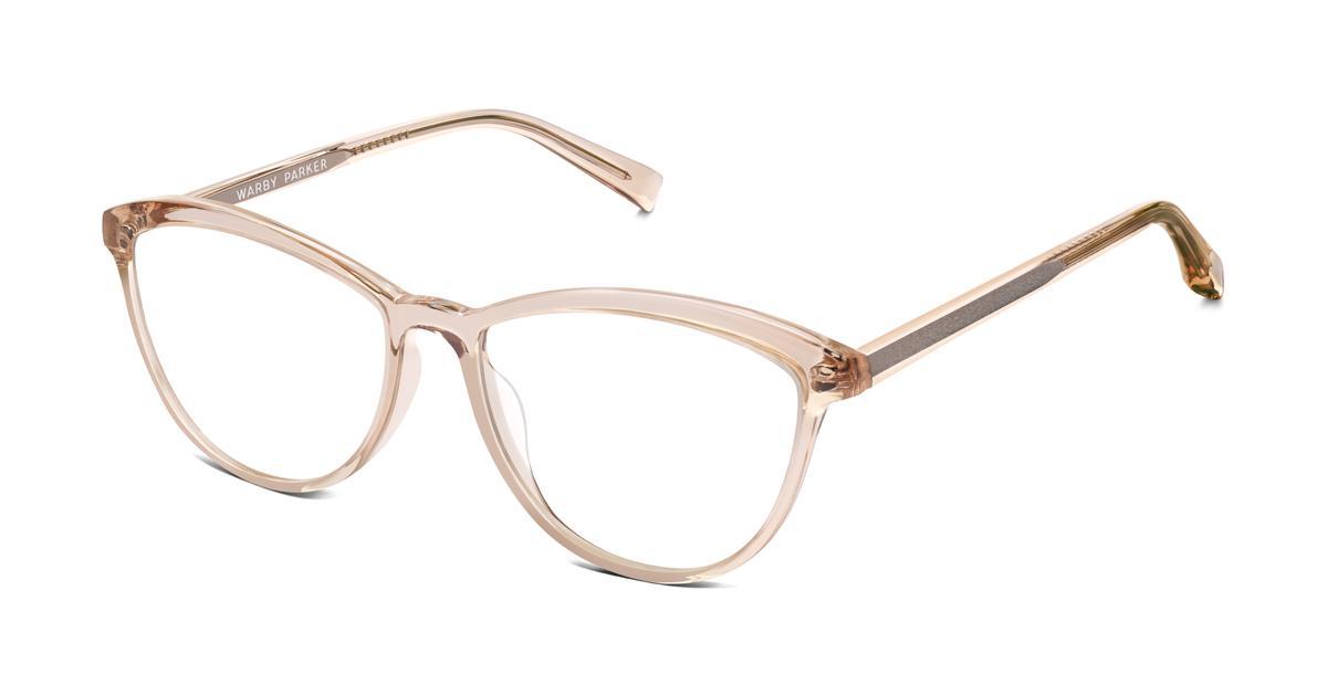 Louise Eyeglasses in Elderflower Crystal for Women | Warby