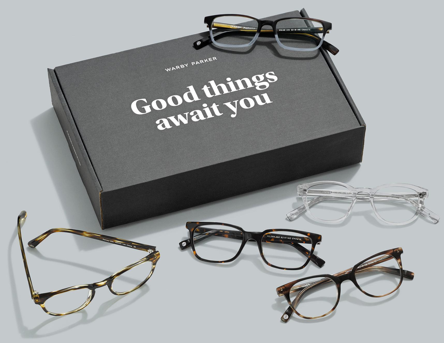 Frames quiz Warby Parker
