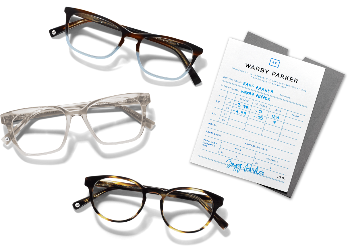 2631e7149362 How to get a prescription | Warby Parker